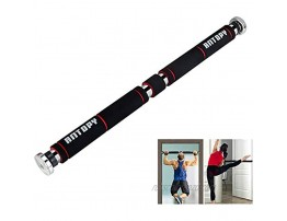 ANTOPY Pull-Up Bar Chin-Up Bar Stretch Bar Gym Fitness Strength Training Made of Sturdy Steel with Max Loading Weight 330lbs 150Kg Adjustable to Doors with Width of 65-100cm