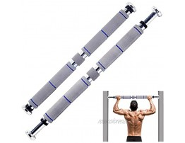 EPROSMIN Pull Up Bar Chin Up Doorway Bar Exercise Bar Upper Body Workout Bar for Home Gym Exercise Fitness with 28.5'' 37.5'' Adjustable Width