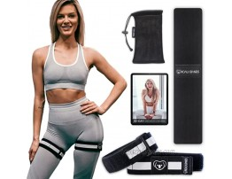 Booty Blood Flow Restriction Bands for Women with Training Guide for Legs Glutes Occlusion Bands for Workout Bonus Fabric Resistance Loop Tone & Lift Your Butt Squat Thigh Fitness