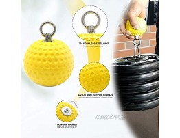 SYNTECSO Hand Grip Strengthener Wrist and Forearm Strengthening Equipment Hand Exercise Ball with Adjustable Weight for Finger Hand Wrist and Forearm Strength