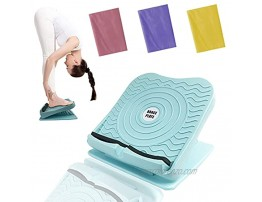 KALOPEZY Slant Board Calf Tight,Calf Stretcher Ankle And Foot Incline Board for Stretching Tight Calves or Plantar Fasciitis Adjustable 4 Level 330 lb Capacity Strength Training Equipment Leg Machines,Mint Green