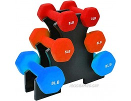 3 Tier Weight Holder Rack Dumbbells Can Hold UP to 32 lbs Weight Lifting Dumbbell Holder Rack Stand Weight Rack Dumbbell Bracket Set with Rack Depending On Shape of Your Dumbbell