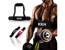 KKH Arm Blaster for Biceps & Triceps Dumbbells & Barbells Curls Muscle Builder Bicep Isolator for Big Arms Bodybuilding & Weight Lifting Support for Strength & Muscle Gains