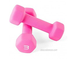 MOLLY FRASER 3 lb Dumbbell Hand Weights Pack of 2