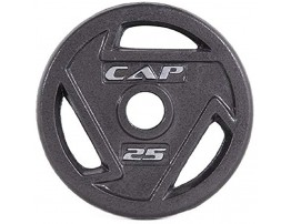 CAP Barbell 2-Inch Olympic Grip Plate 25 Lbs x 2
