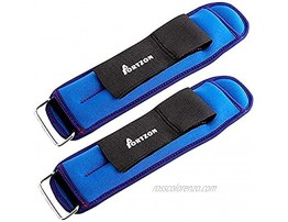 Portzon Ankle Wrist Weights Durable Arm Leg Weights with Adjustable Strap