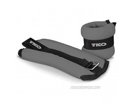 TKO Wrist Weights and Ankle Weights | Wrist Weights Sets for Women l Set of 2 | Adjustable for Arm and Leg Weights l Strength Training Equipment | 2 lb weights and 5lb weight