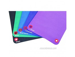 Fitness First EcoWise Premium Exercise Workout Mats 23 x 69 x 3 8 Aloe