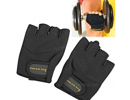 Golds Gym Classic Training Gloves Workout Gloves Weightlifting Fitness Exercise Medium