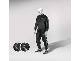 RAD Heavy Duty Sweat Suit Sauna Exercise Gym Suit Fitness Weight Loss Anti-Rip