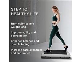 KL KLB SPORT 28.5 Adjustable Workout Aerobic Stepper in Fitness & Exercise Step Platform Trainer Stepper with 2 Risers for Strength Stability and Resistance Training