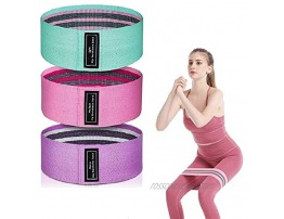 3-Level Resistance Bands for Workout Non-Slip Exercise Bands for Women Legs and Butt Booty Squat Fitness Bands