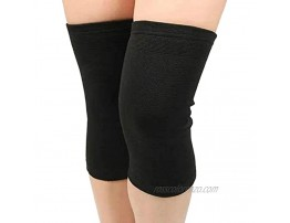 Knee Support Sleeves for Joint Pain,Improved Circulation Compression,Effective Support for Running,Jogging,Workout.Compression Knee Sleeves for Knee Pain for Women & Men Pair