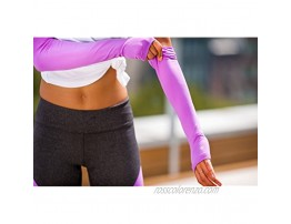 nicepipes Arm Warmers for Women UV Protection Mild Compression Arm Sleeves Perfect for Running Cycling and Yoga